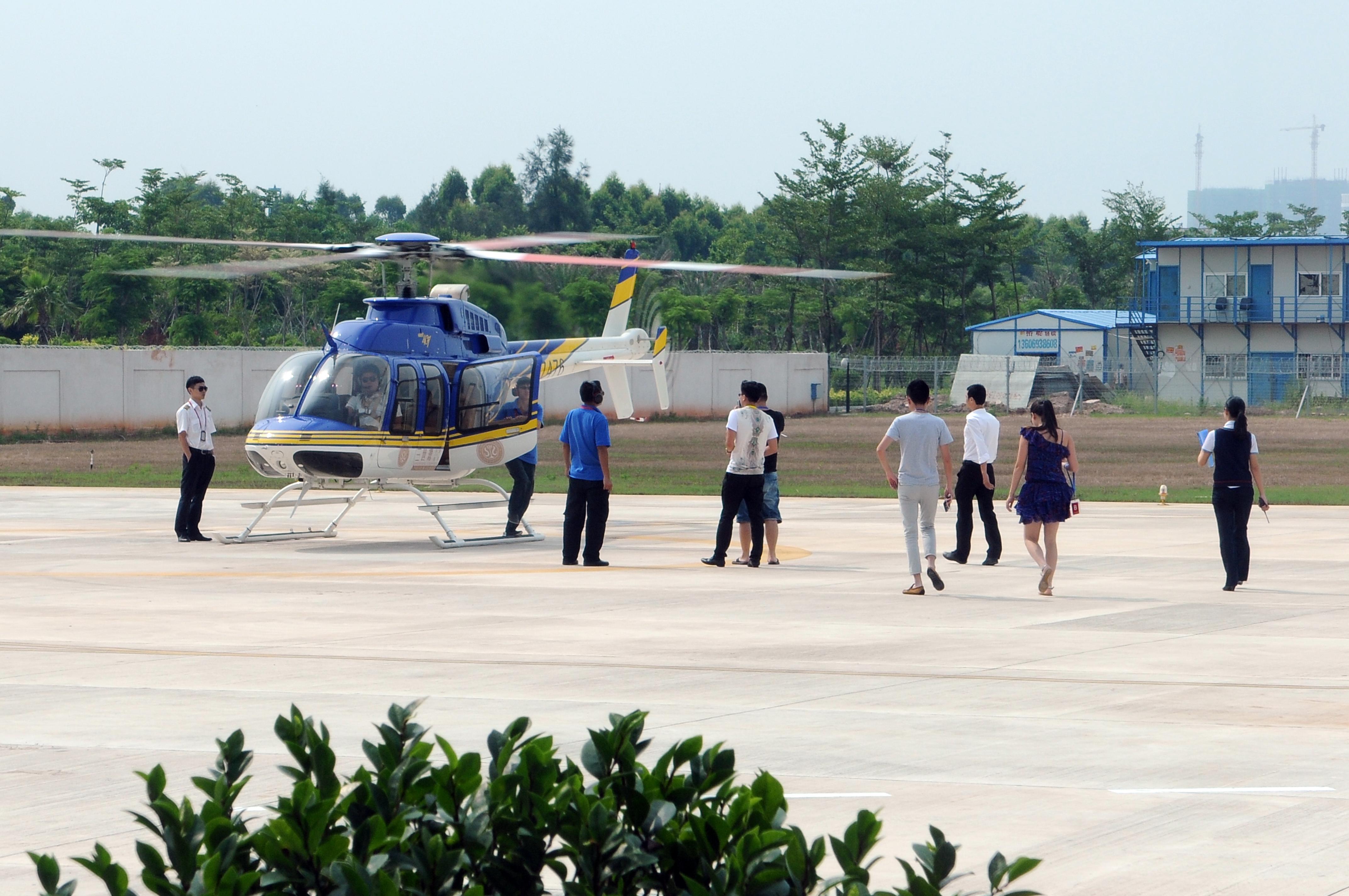 三世源vip私人定制直升飞机 游艇俱乐部之旅(厦门站)